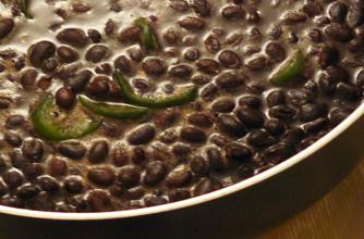 recetas de frijoles negros